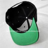 Casquillo plano del Snapback del borde del bordado de encargo 3D de Headwear/casquillo/sombrero de Hip Hop