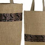 Sacchetto di Tote della tela da imballaggio della iuta come sacchetti di /Shopping /Lunch della drogheria