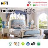 Королевская софа античной мебели типа деревянная для живущий комнаты (HC801)