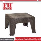 Plastikrattan-Garten-Möbel-Tisch-Stuhl-Form der einspritzung-pp.