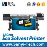 Trazador de gráficos Solvente con la talla de la impresión del 1.8m, Dx7 pista, Sinocolor Sj-740