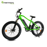 Bici eléctrica de la montaña de la nieve con el motor ocultado de la batería y del engranaje 1000W