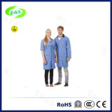 Костюм Workwear противостатического пальто лаборатории халата шинели одежды полиэфира чистой комнаты ESD равномерный