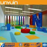 Gomma piuma che appoggia il pavimento puro del PVC di colore per l'asilo