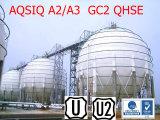 El tanque esférico del LPG