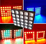 25*10W RGBW 4in1 LED Matrix-Licht-/Effect-Licht