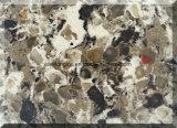 두 배 & 다중 색깔 석영 돌 석판