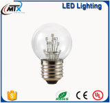ses LEDの球根LEDの蝋燭ランプの蝋燭の球根のLED SA A19 2W E27白いLEDエジソンの電球を暖める