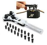 Hulpmiddel van de Reparatie van het Vlekkenmiddel van de Schroef van de Moersleutel van de Opener van de Dekking van de Batterij van het Geval van het horloge het Achter