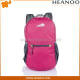 方法女の子のティーネージャー旅行はナイロン袋のバックパックDaypackを遊ばす