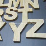 Armadietto di legno della casella di legno dipinta a mano su ordinazione del MDF per la parete decorativa