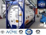 Alta calidad 21000L 30FT de acero al carbono del tanque nuevo Envase para productos químicos peligrosos Ahf con válvulas japoneses