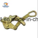造られた合金鋼鉄電流を通されたワイヤーロープのグリップかケーブルグリップ