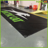 Drapeau fait sur commande de maille de polyester de prix usine, drapeau de maille de PVC pour les événements sportifs (TJ-B01)
