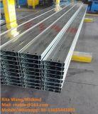 Purlin do perfil C de C/calha de aço galvanizados alta qualidade para a construção