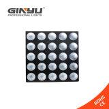 Luz de la matriz de la iluminación 5X5 10W RGB LED del disco LED