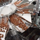 De volledige Automatische Machine van de Verpakking van de Bloem van de Rijst met de Naaimachine van de Zak