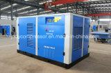 Compresor doble refrescado aire del establo de los tornillos