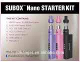 2017 neuester e-Zigarette Kanger Subox Nano Starter-Installationssatz