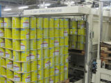 Pó de leite condensado que processa fazendo a linha para plantar a nata da maquinaria - pó de leite produzindo a linha de processamento planta