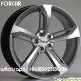 L'alliage d'aluminium borde la roue d'alliage de reproduction de roues pour le véhicule d'Audi