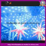Dekoration-aufblasbarer Stern mit veränderbarem Licht für Dekor