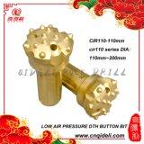 CIR110シリーズ低い空気圧ボタンビット(dia 110mm~200mm)