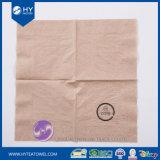Serviette de papier estampée par serviette de papier