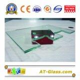 """vetro Tempered di vetro della mobilia di vetro di vetro della costruzione della stanza da bagno del vetro """"float"""" di 3-19mm"""