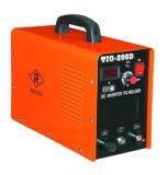 soldador do pulso do inversor TIG/MMA da C.C. 160AMP (TIG-160D)