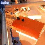 Одиночный цвет маркирует печатную машину шелковой ширмы