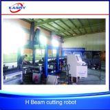 Energiesparendes Träger-Stahlbalken CNC-Plasma-Ausschnitt-Loch-fertig werdene Maschine