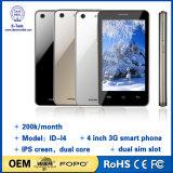 Горячий продавать 4-дюймовый смартфон 3G Dual Core Android 4.4 Mtk6572
