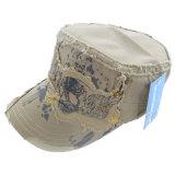 Sombrero militar lavado con el Applique (MT03)