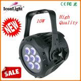 O poder superior barato 7X10W Waterproof a luz da PARIDADE (ICON-A068)