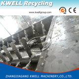 Überschüssiger Plastik, der Machine/PE pp. Filme/die Beutel-Zerquetschung und Waschmaschine aufbereitet