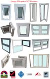 Fuzhou Ropo Building Materials Company, dobla PVC esmaltado Windows y puertas