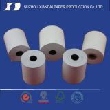Roulis en gros de papier thermosensible d'usine avec le faisceau en plastique