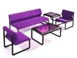 Sofà dei piedini del metallo del cuoio della mobilia del salone (HX-321D. 2)