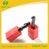 Os tipos dos bits do moinho de extremidade da esfera do CNC de CNC do cortador de trituração utilizam ferramentas o carboneto