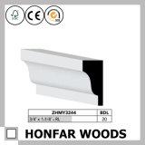 """3/4 moulage européen de tête de corniche en bois solide du type """" X1-1/4 """""""