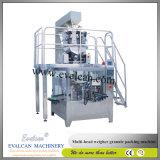 Sac automatique de farine de maïs pesant la machine de conditionnement avec le remplissage de foreuse