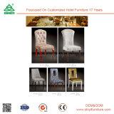 Presidenza di legno senza braccia dell'oggetto d'antiquariato della mobilia della camera di albergo