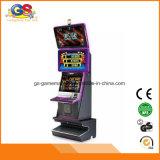 Gabinete luxuoso feito sob encomenda da máquina de entalhe da máquina de jogo do jogo do casino