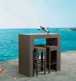 등나무 발판 의자 의자 부엌 바 의자 2