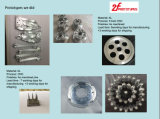 CNC части металла частей алюминия CNC подвергая механической обработке подвергая механической обработке автоматический