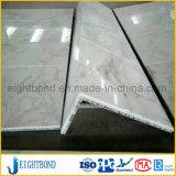 L панель сота камня мрамора формы алюминиевая для украшения здания