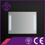 Neu-Konzipierter dekorativer Badezimmer-Wand-Spiegel des Silber-LED mit Taktgeber