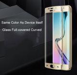 이동할 수 있는 부속품 아사히 Samsung S6 가장자리를 위한 유리제 민감한 접촉 강화 유리 스크린 프로텍터