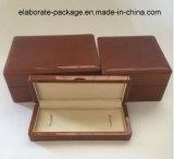 Коробка высоких лоснистых ювелирных изделий лака деревянная